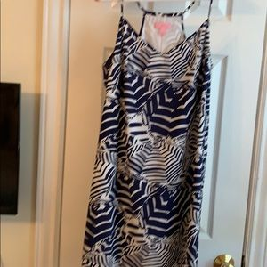 Lilly Pulitzer silk dress  Large